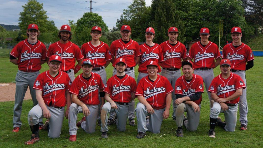 Mustangs NLB Team Saison 2017