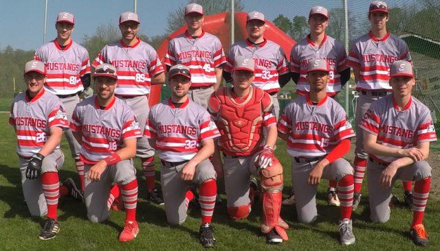 Mannschaftsfoto Mustangs NLB Team 2018