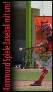 Komm und spiele Baseball mit uns!