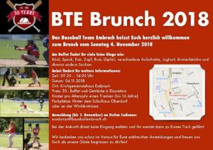 BTE Brunch @ Kirchgemeindehaus Embrach