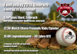 FamFunDay – Family and Friends Fun Day @ Baseballfeld Hard