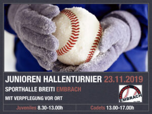 Junioren-Hallenturnier 23.11.2019 (Cadets&Juveniles) @ Sporthalle Breiti